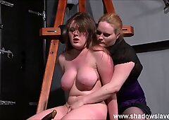 lezzy Taylor Hearts extreme indignity and punishment bondage & discipline of young blon