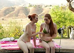 Kendra James and Veronica Vain at mommy's Girl-Big