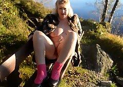 Goldenpussy:Me in fur nude again