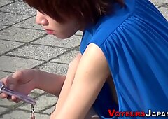 Asian teens nipples seen