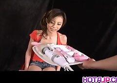 Natsumi Mitsu Japanese Milf in Red - More at hotajp.com